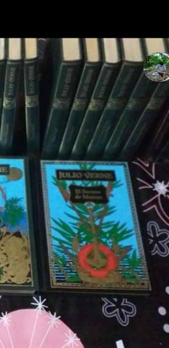 Vendo Libros Julio Vernes 250 C/u