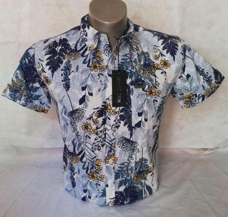 camisa manga corta y manga larga para caballero; realice sus pedidos al Tel: 3203201591