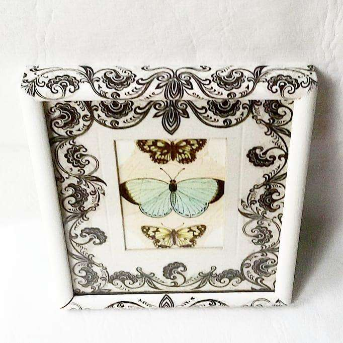 Cuadrito con mariposas