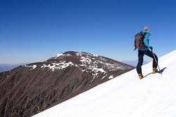 Preparación física para escalar montañas.