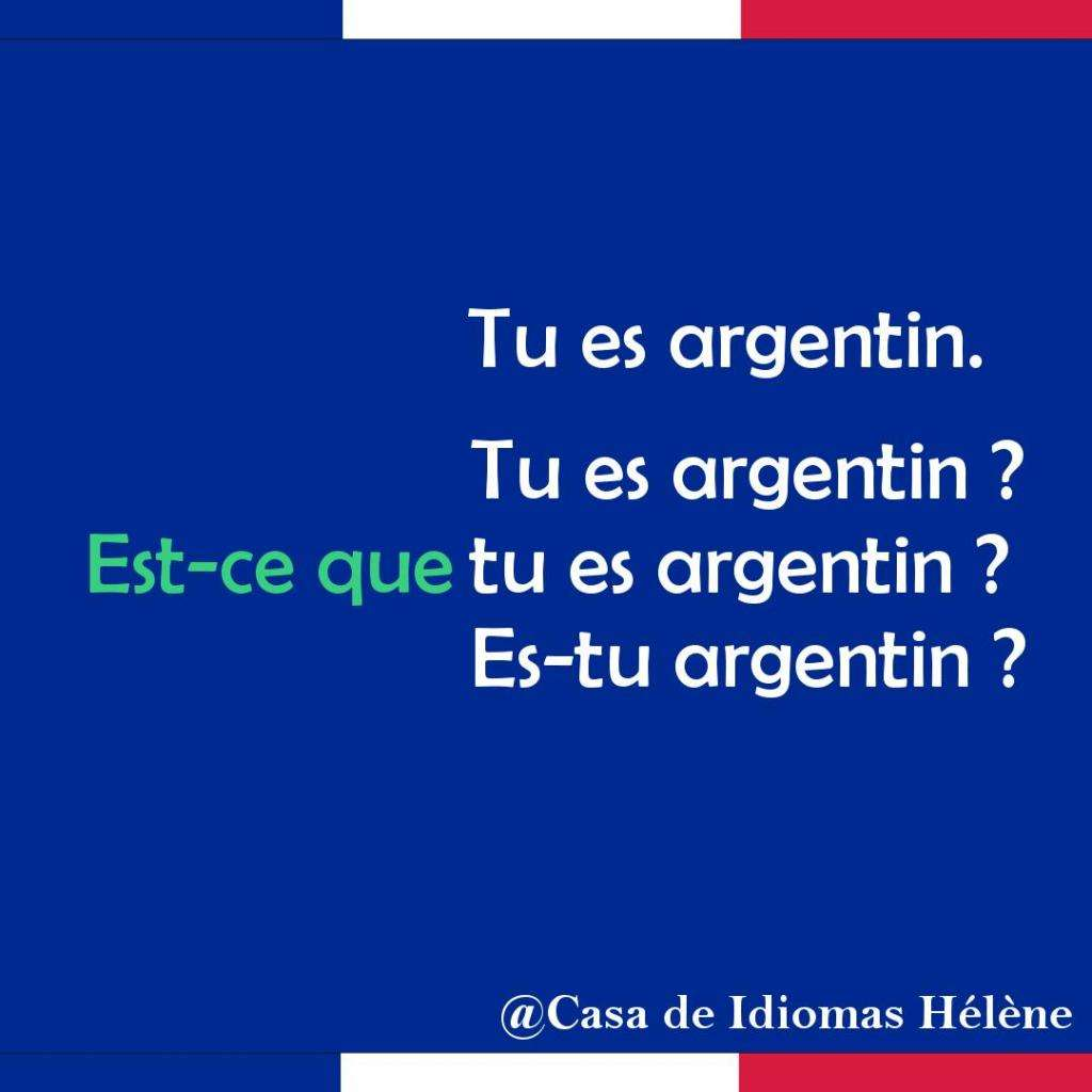 Clases francés Nacional Buenos Aires profe nativa