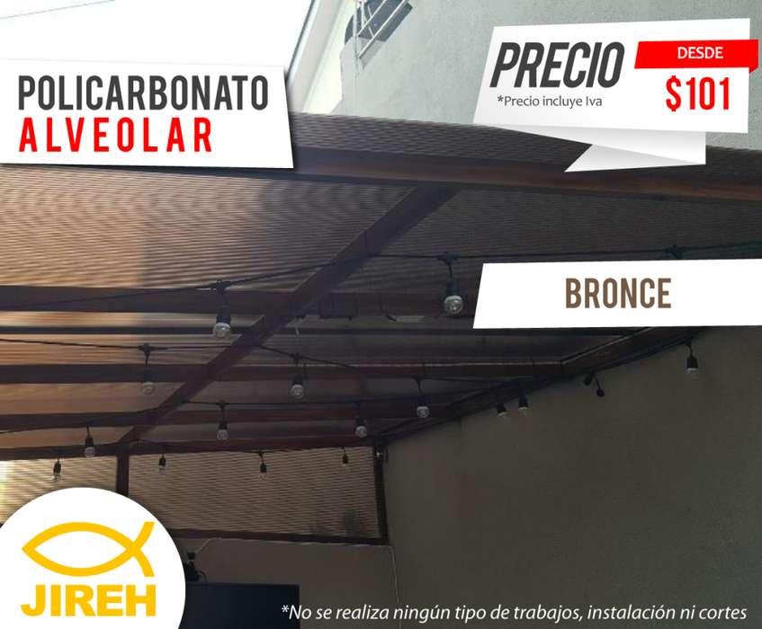 Policarbonato Jireh 6mm en Guayaquil, Techos, Alucobond, Acrílico, Cielo raso PVC