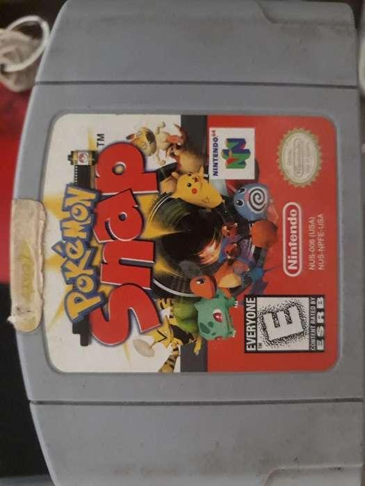 lote 7 Juegos de Nintendo 64 N64 en perfecto estado