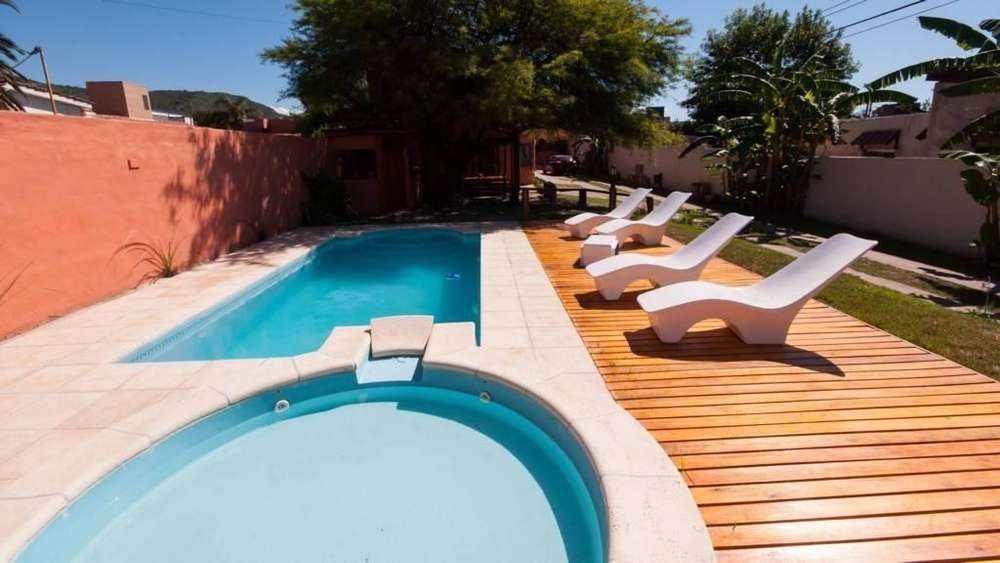og87 - Dúplex para 2 a 7 personas con pileta y cochera en Villa Carlos Paz