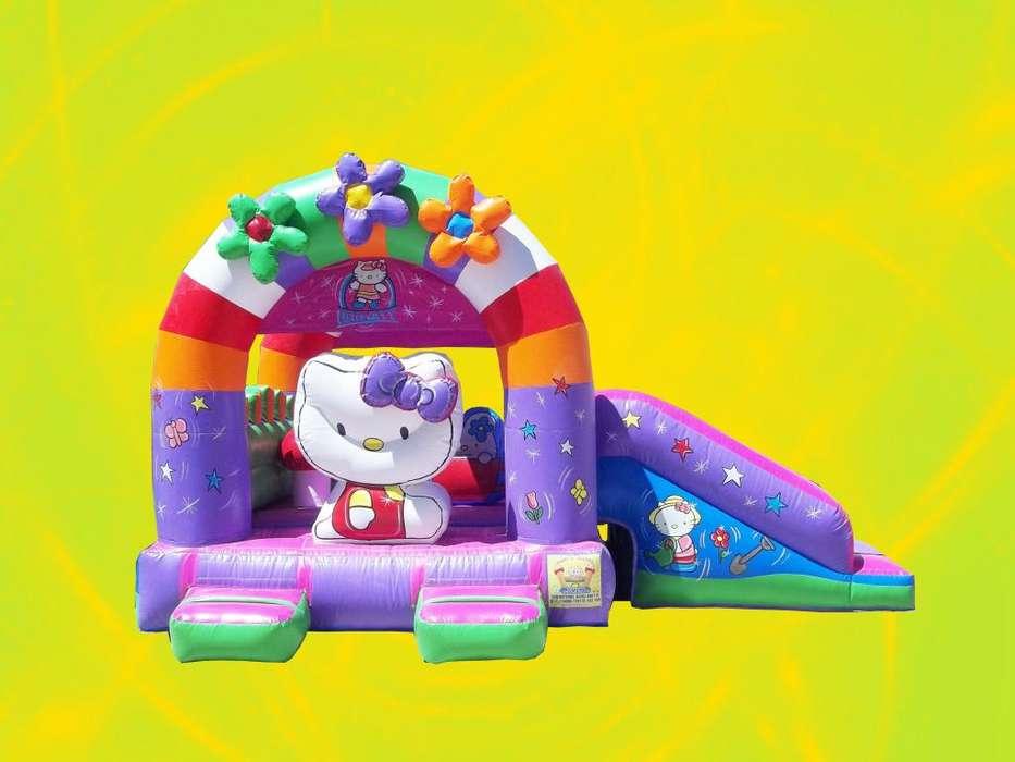 Inflable Hello Kity - Babysjuegos