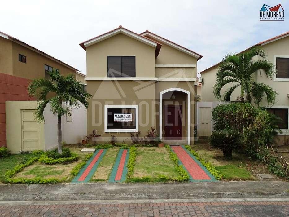 Alquiler de Casa en Urb. <strong>ciudad</strong> Celeste, etapa La Marina, cerca del C.C Riocentro El Dorado, Samborondon