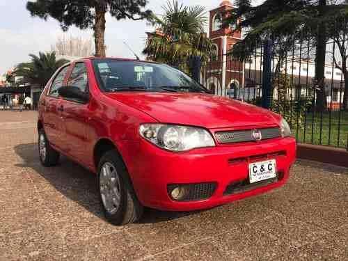 Fiat Palio 5p Full Rojo