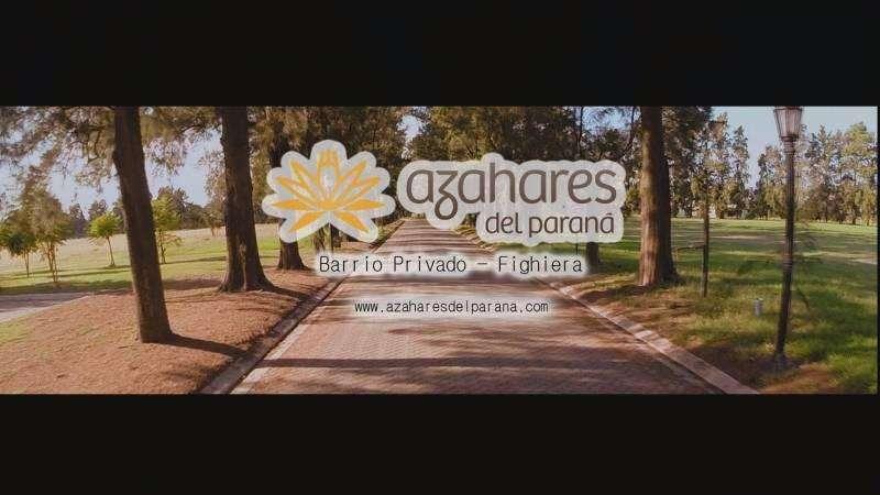 Vendo amplios lotes en Azares del Paraná más cama nautica.