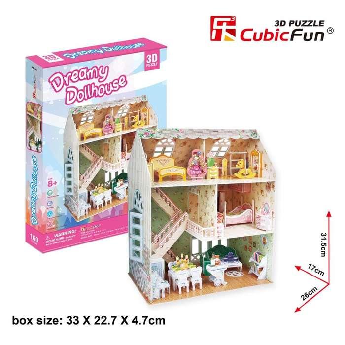Rompecabezas 3d Dreamy Dollhouse P645h