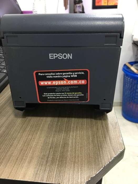 Impresora Terminca Epson Tmt 20