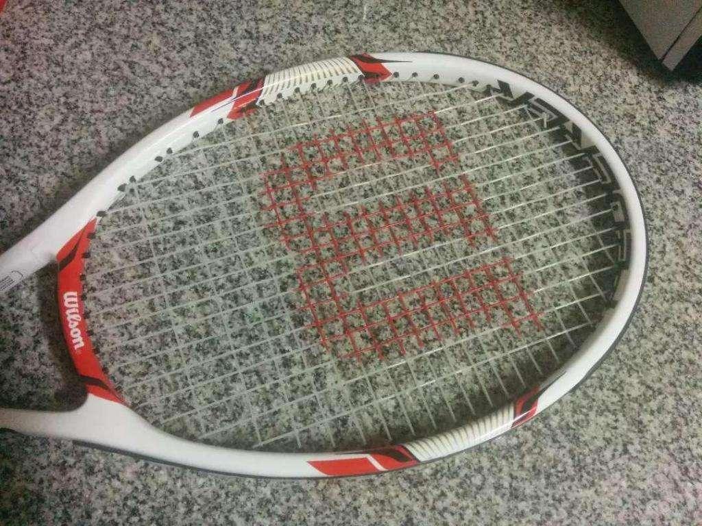 6ce02dfdc Raquete Wilson Federer 100 - San Isidro
