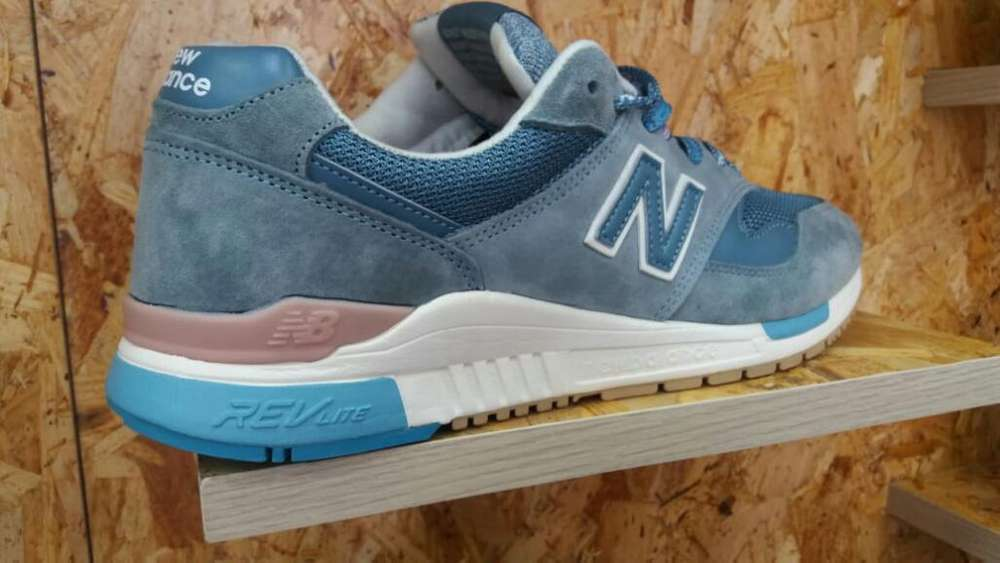 New Balance Men Blue Espectaculares