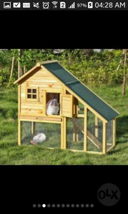 Casas para Conejos