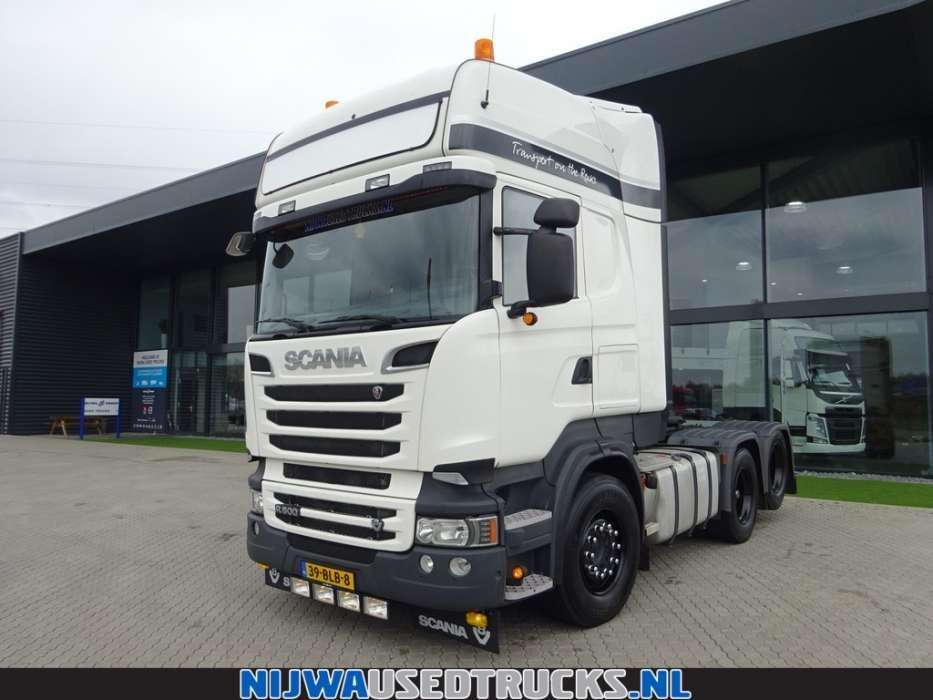 Scania R 500 V8 sleepas Retarder Schuifschotel - To be Imported