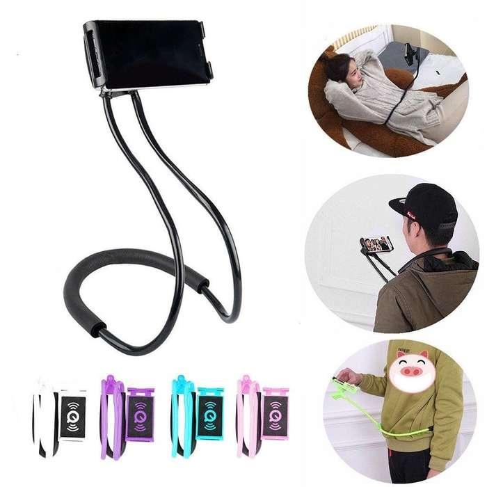 Soporte Celular Cuello/coche/mesa