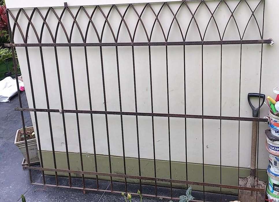 Protección de Ventana Reja Metálica de Seguridad 1.60 x 2.03 mts