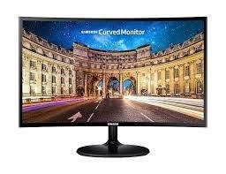 Monitor Samsung Curvo Full Hd 27 Pulgadas Hdmi Y Vga