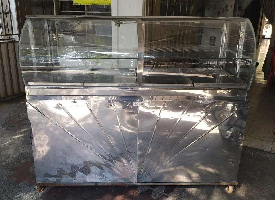 Vitrina Calefacción Grande Tipo Burbuja