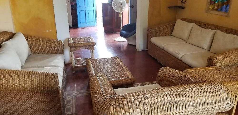 Muebles,sala en Mimbre