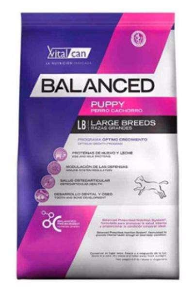 Alimento para cachorros VITALCAN Balanced 20kg