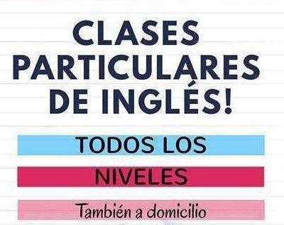 Clases Personalizadas De Inglés A Domicilio. Profesor Dedicado Te Conduce Y Apoya A Lograr Tus Metas