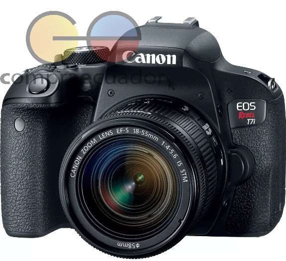Canon Eos Rebel T7i solo cuerpo 24.2 Mp Wifi Nfc Video Hdr