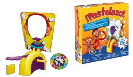 Juego Pastelazo En La Cara no es hasbro juego de mesa niños el mejor regalo navidad juguete