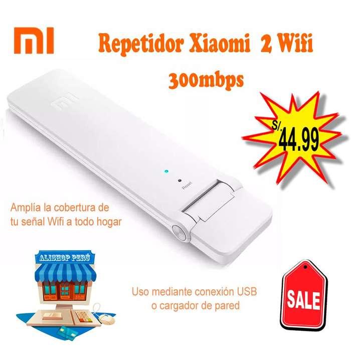 Repetidor Xiaomi 2 Wifi Amplificador 2 Antenas 300mbps