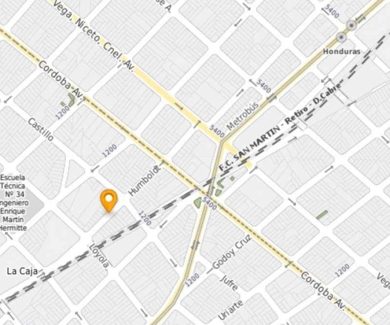 Terreno de 1 ambiente en Venta en Palermo