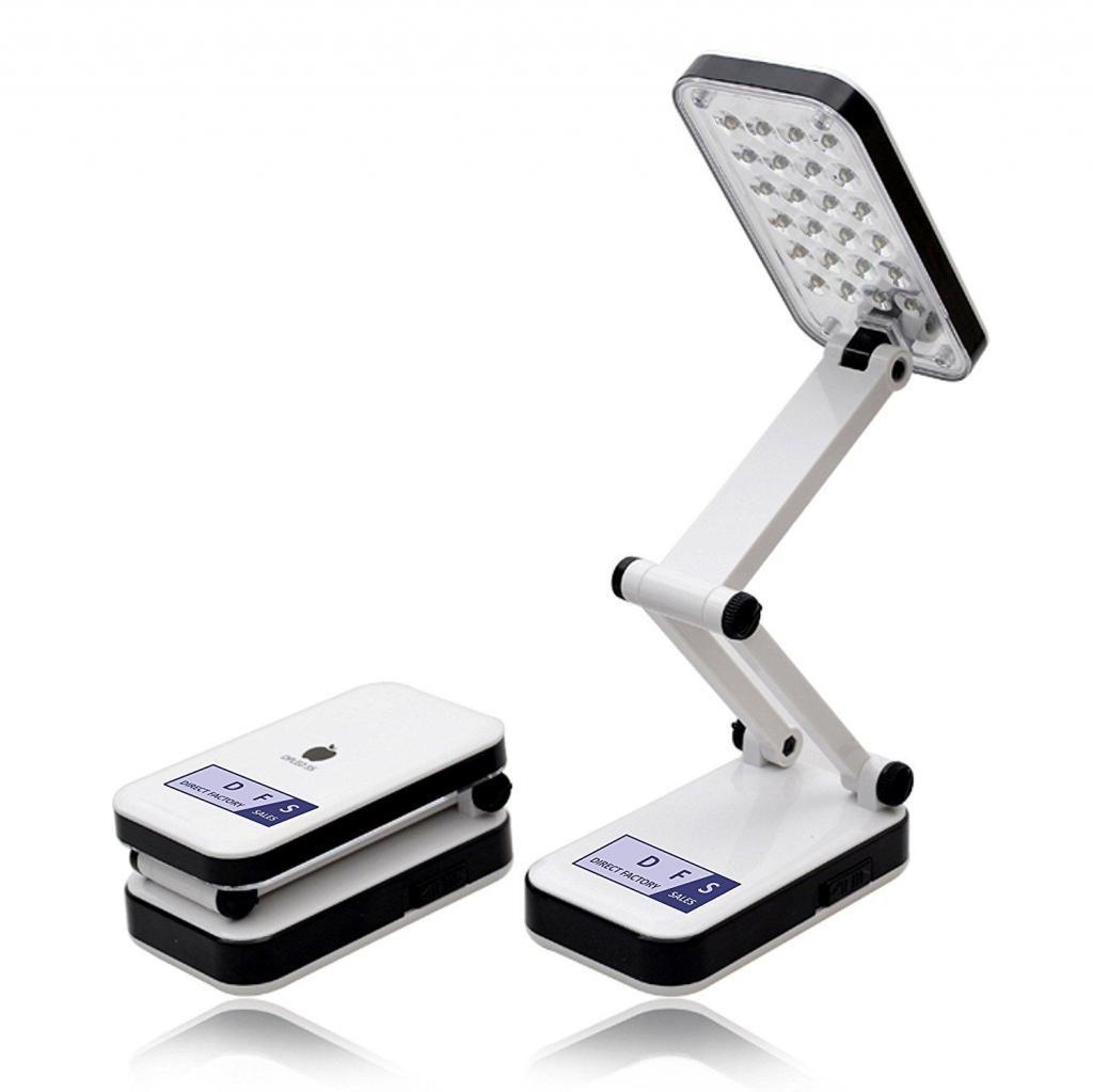 Lámpara Plegable Luz 24 Led De Emergencia Recargable Linterna