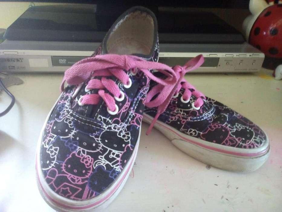 Zapatillas Vans de Niña Hello Kitty