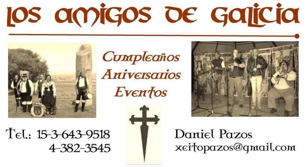 Grupo de Gaiteros y Bailes de Galicia