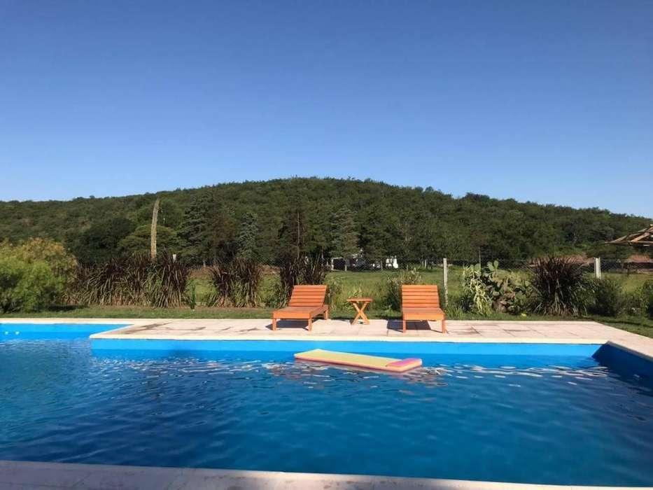 sq95 - Cabaña para 2 a 6 personas con pileta y cochera en Rio Ceballos