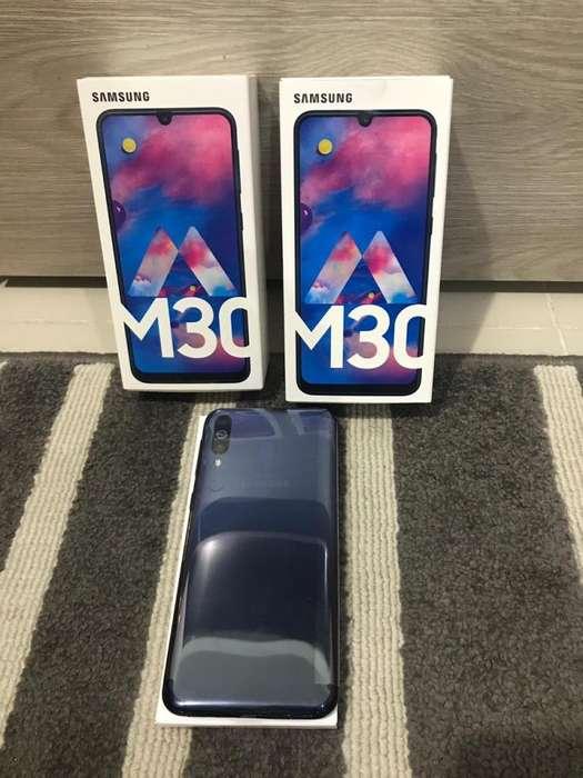 Samsung M30 64 Gb Nuevos Y Sellados Al Mejor Precio