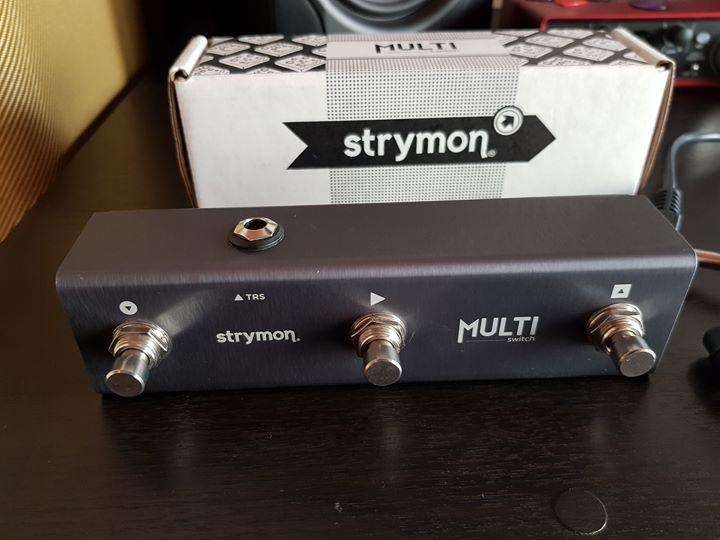 MultiSwitch Strymon for TimeLine, BigSky, and Mobius