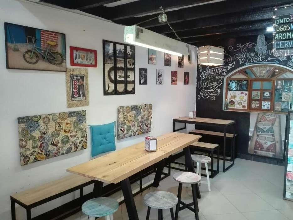 Vendo Cafe Bar por La Zona Rosa de Paipa