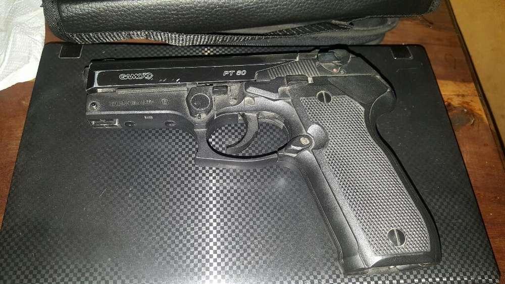 Pistola Gamo Pt80 de Co2, Cal 4'5