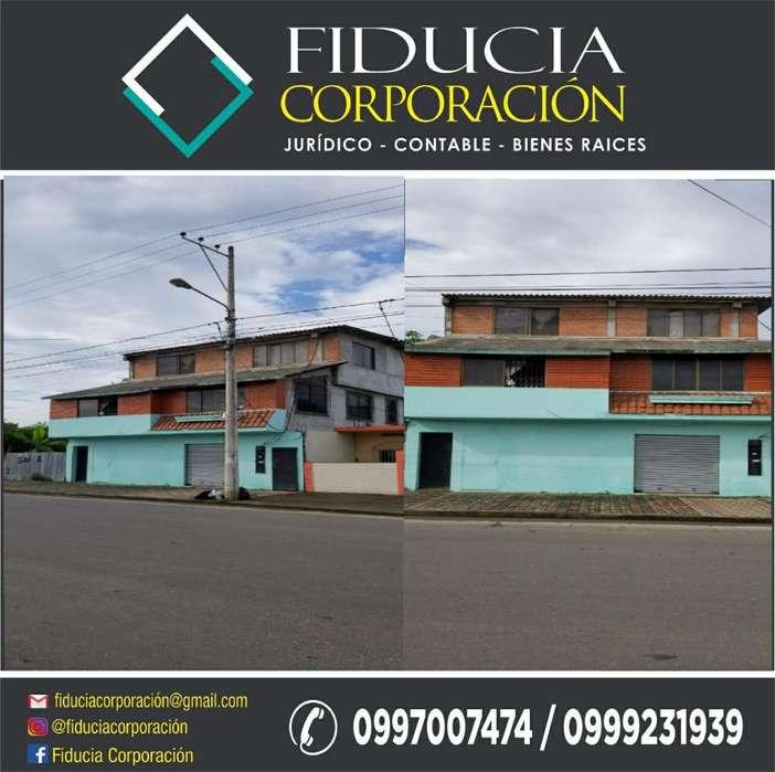 Casa Rentera 3 Pisos Barrio Venezuela - Machala