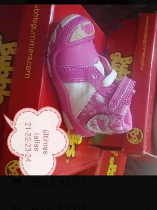 Zapatos Bubble Gummers