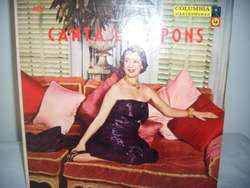 Disco De Vinilo L P Canta Lily Pons