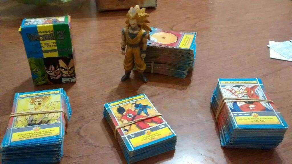 Cartas Dragon Ball Z 400o500  Goku Ssj3