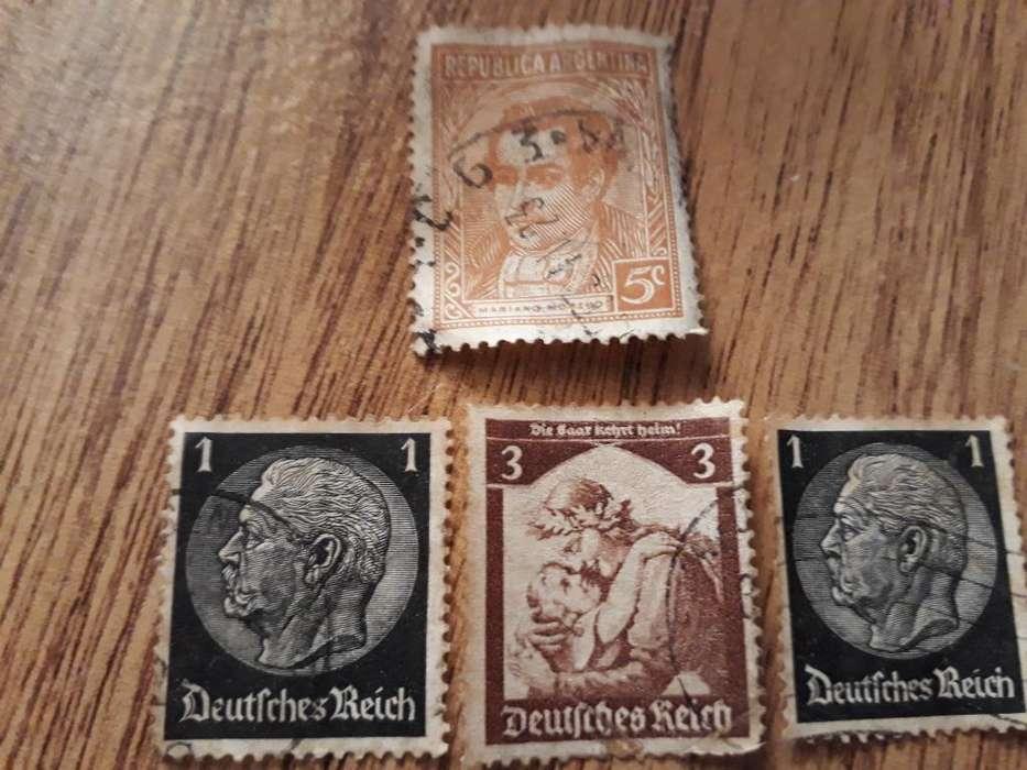 Estampillas Muy Antiguas de Alemania