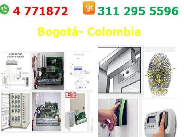 servicio técnico de electroimanes, control de acceso Bogotá, puertas