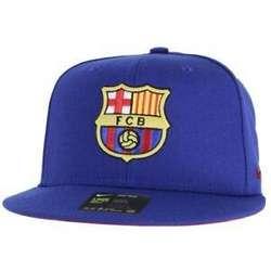 Gorra Nike True Fcb Barcelona Blue Snapback Original