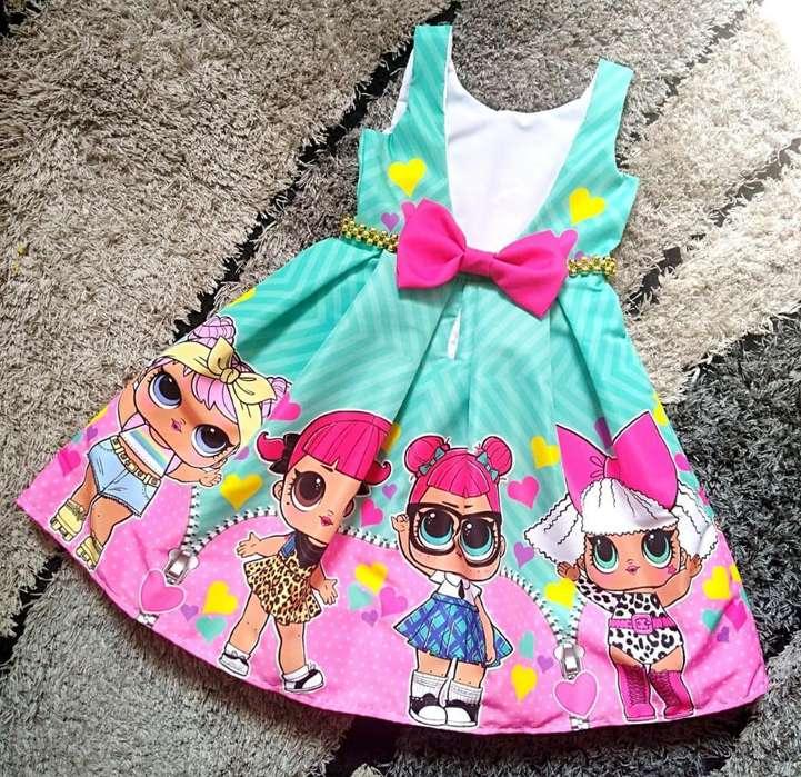 Vestidos Niñas Lol