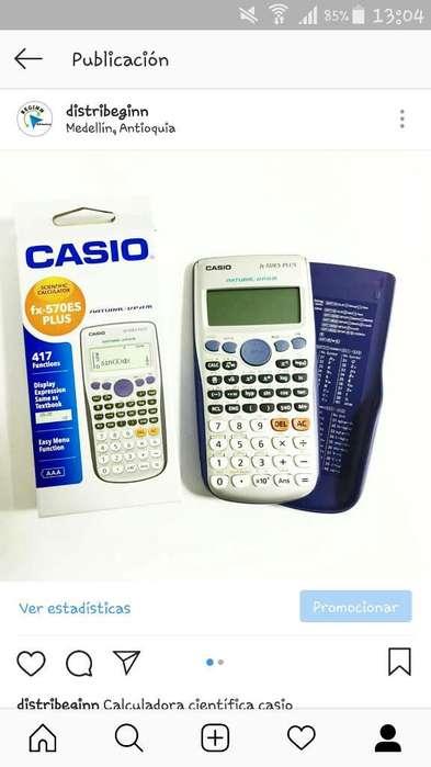 Calculadora Casio Cientifica Fx570 Es