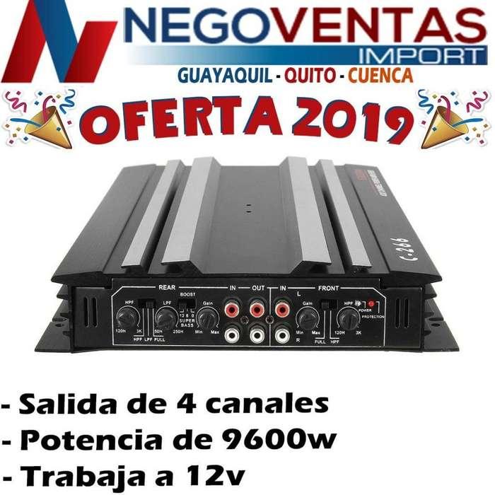 PLANTA AMPLIFICADORA DE SONIDO PARA CARROS OFERTA 85