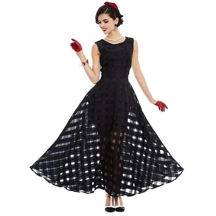 829d19563 Vestidos negros de fiestas  Ropa y Calzado en venta en Perú