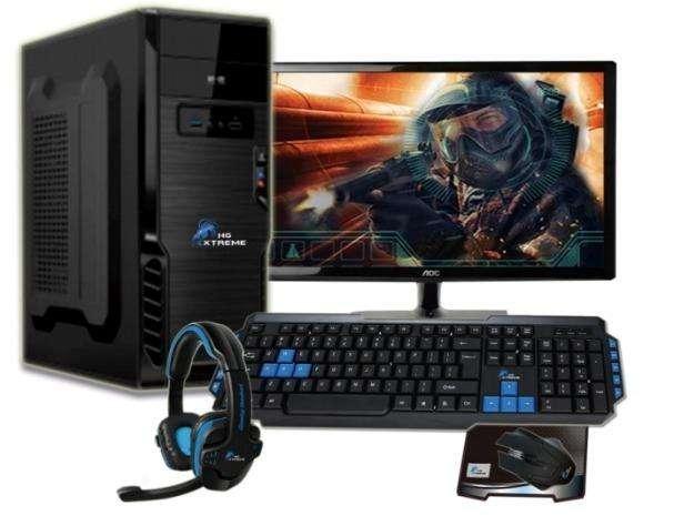 Computador Cpu Core I3 - 4gb ram - D.500gb - 17