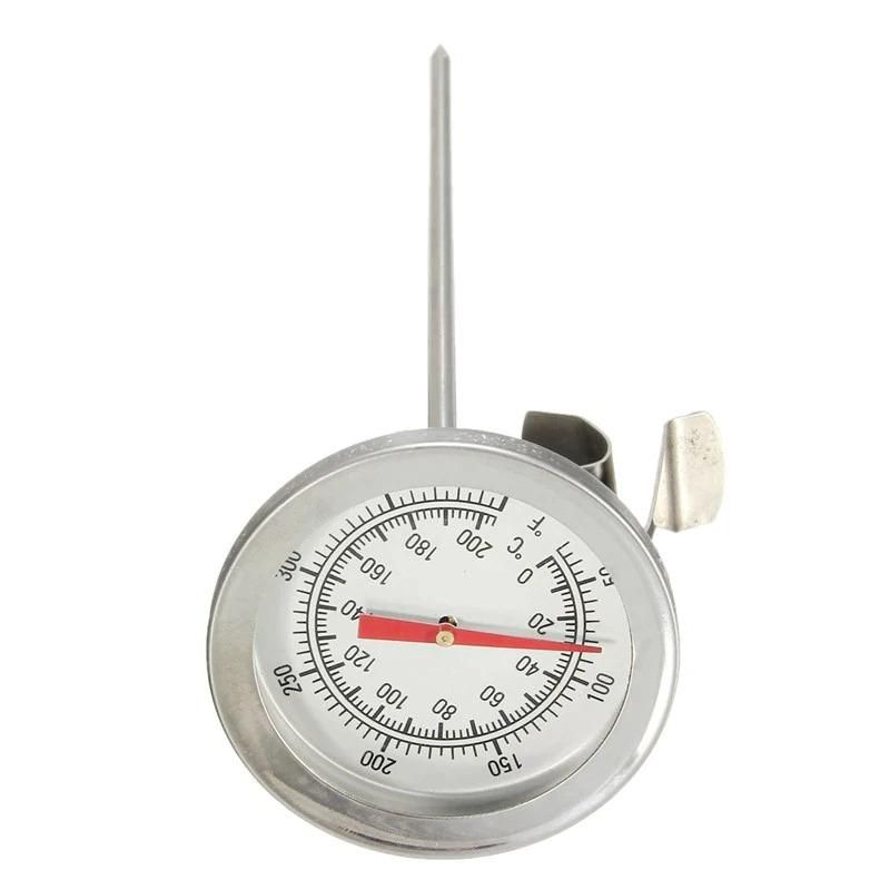 Termometro 20cm Acero Inoxidable Medidor Calibrador Carne